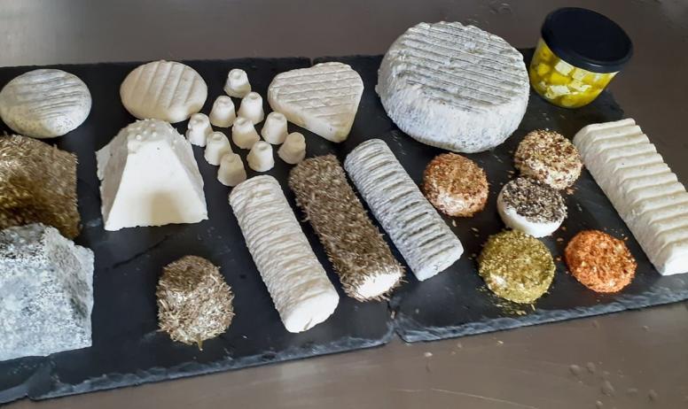 La Ferme des Divols - variétés fromages
