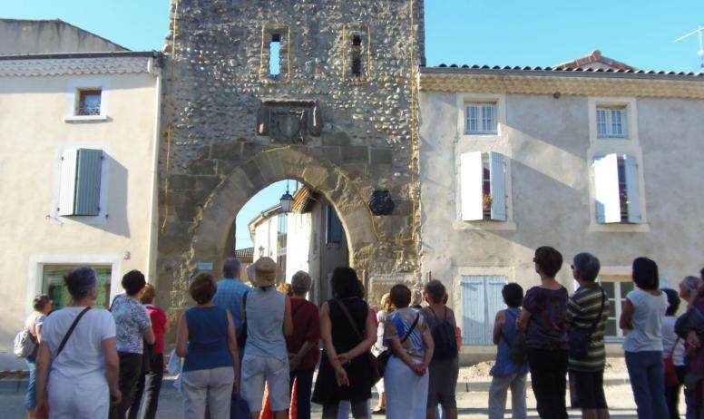 Hermitage Tournonais Tourisme - Visite guidée devant Porte rousillon