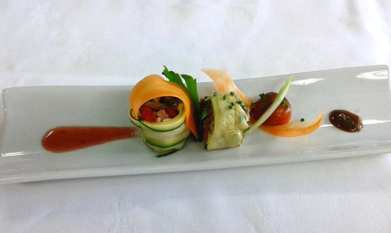 ©Lesmarronniers - Plat Restaurant les Marronniers
