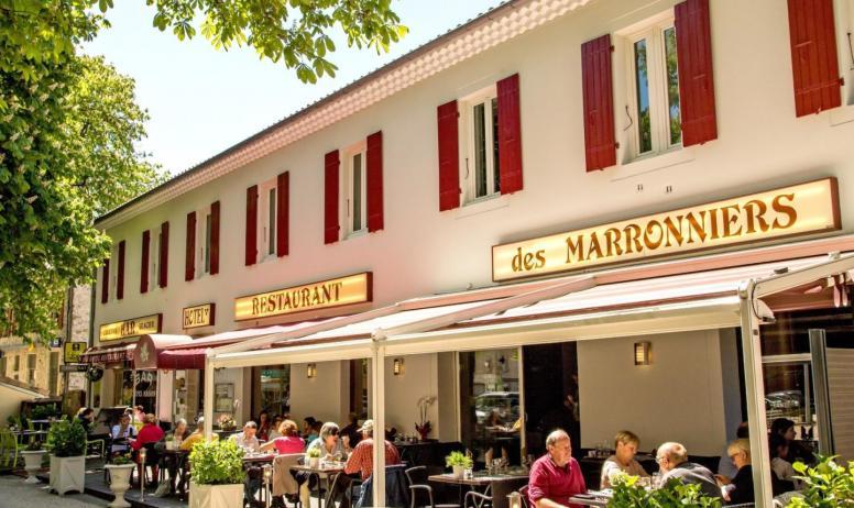 ©Lesmarronniers - Terrasse restaurant les Marronniers