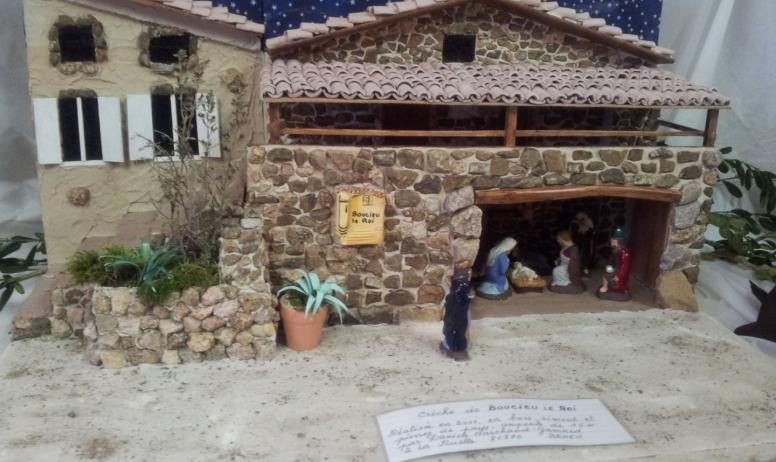 Ardèche Hermitage Tourisme - la crèche boucicoise