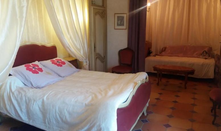 """Gîtes de France - chambre """"La Marquise"""""""
