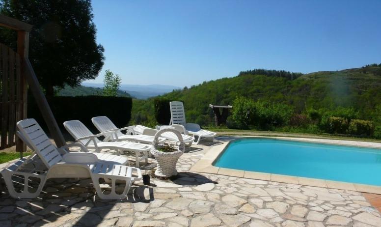 - autre vue panoramique piscine