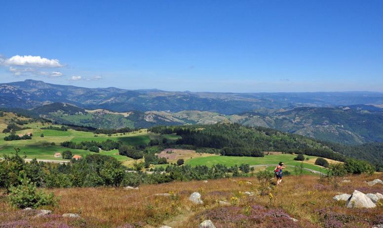 - Panorama depuis le sommet du Suc de Montivernoux