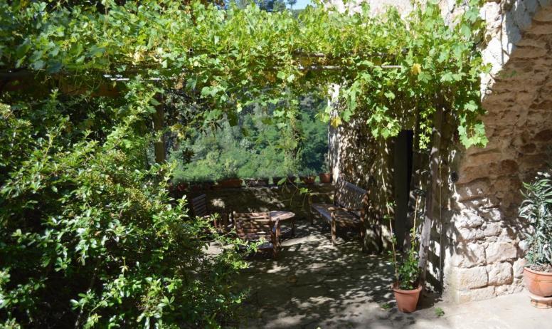 Gîtes de France - Terrasse du gîte