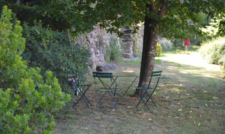 Gîtes de France - Le jardin