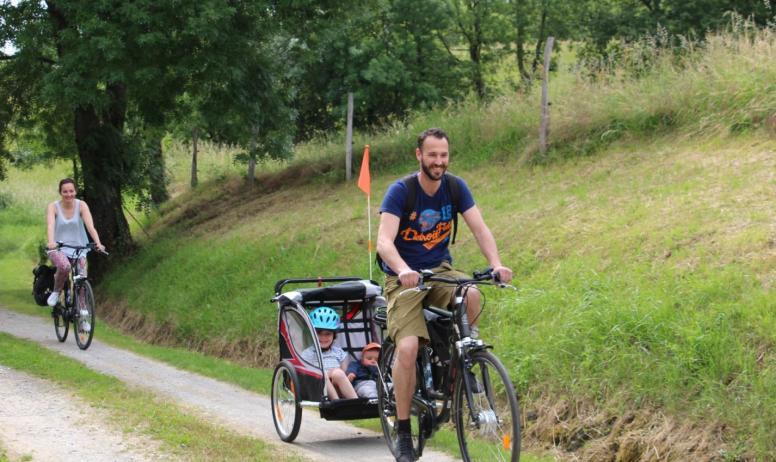 Environnement idéal pour une balade en vélo !
