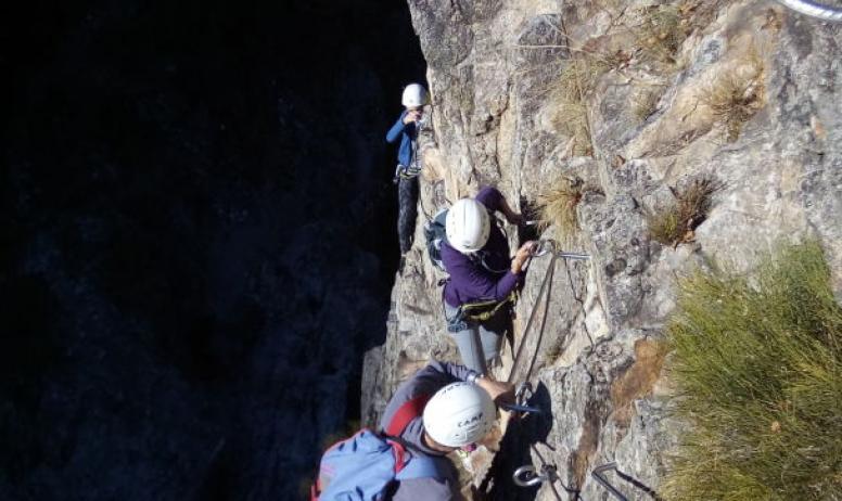 Ardèche équilibre - Via ferrata
