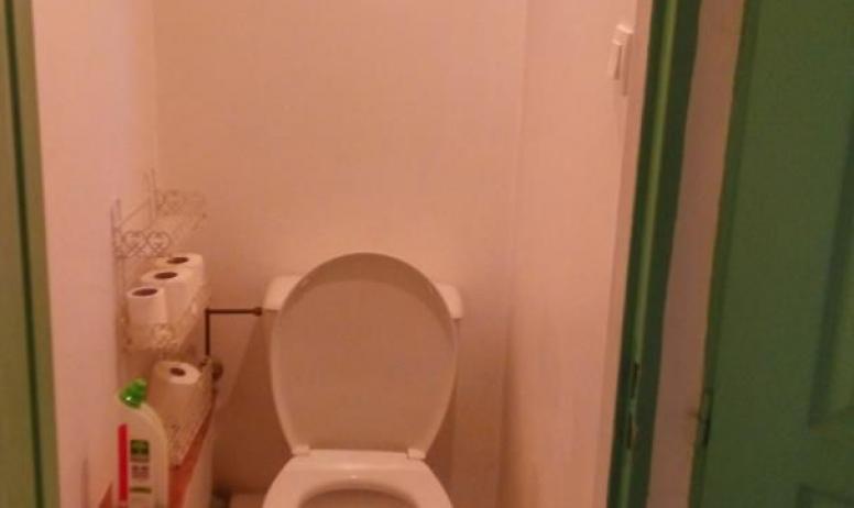 Gîtes de France - vue du toilette du haut de la partie Oratoire