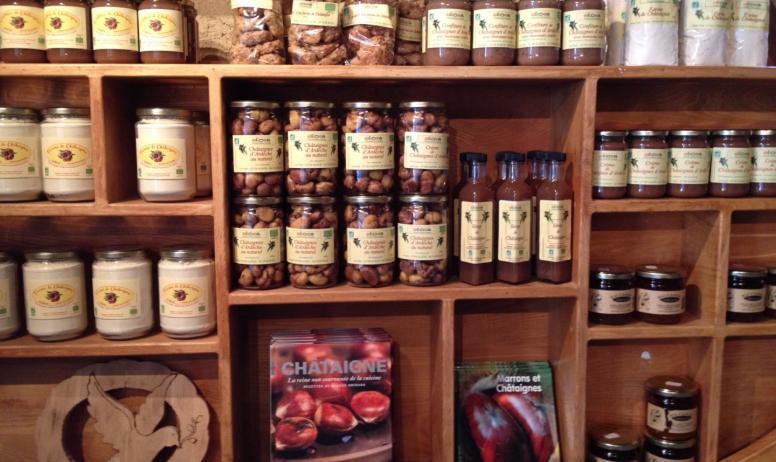 OT Ardèche Hautes Vallées - Boutique Maison du Châtaignier