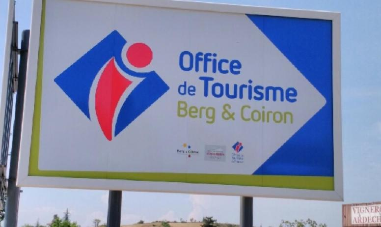 Office de Tourisme Berg et Coiron - Panneau Office de Tourisme Berg et Coiron