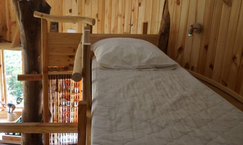 lit 1 place cabane