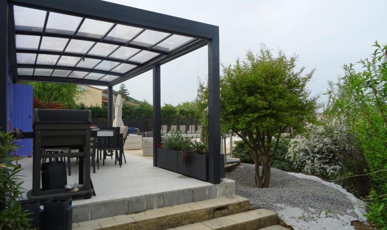 Gîtes de France - terrasse et son barbecue