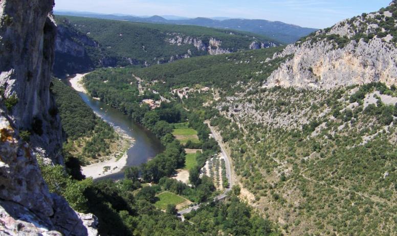 Gîtes de France - les gorges de l'Ardèche Réserve naturelle