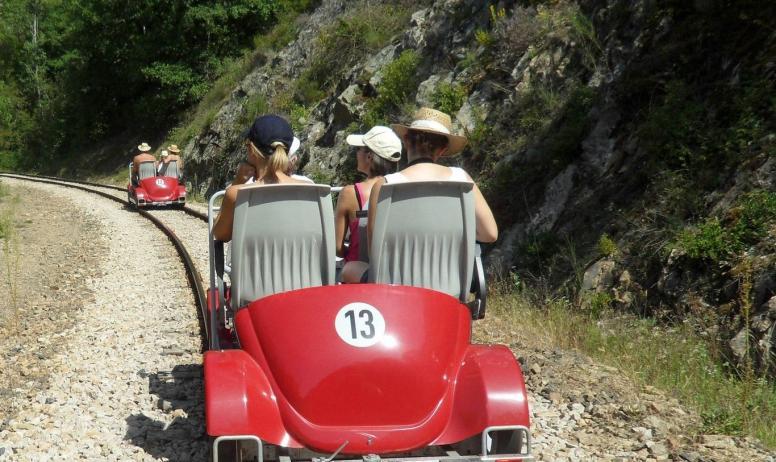 Ah Tourisme - Dans le secret des rivieres_Vélorail