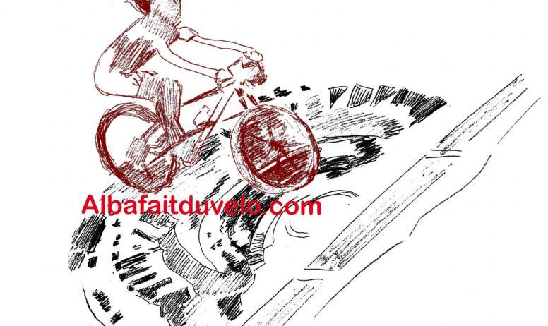 © Alba fait du vélo - Logo Alba fait du vélo