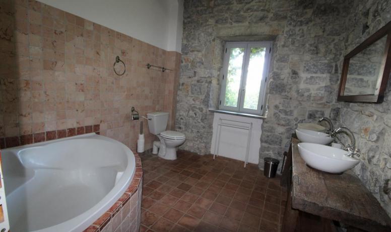 Gîtes de France - salle de bains