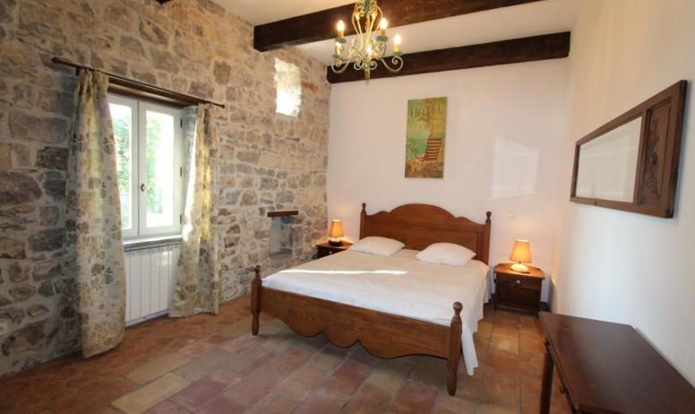 Gîtes de France - chambre 2 - 1 lit 160