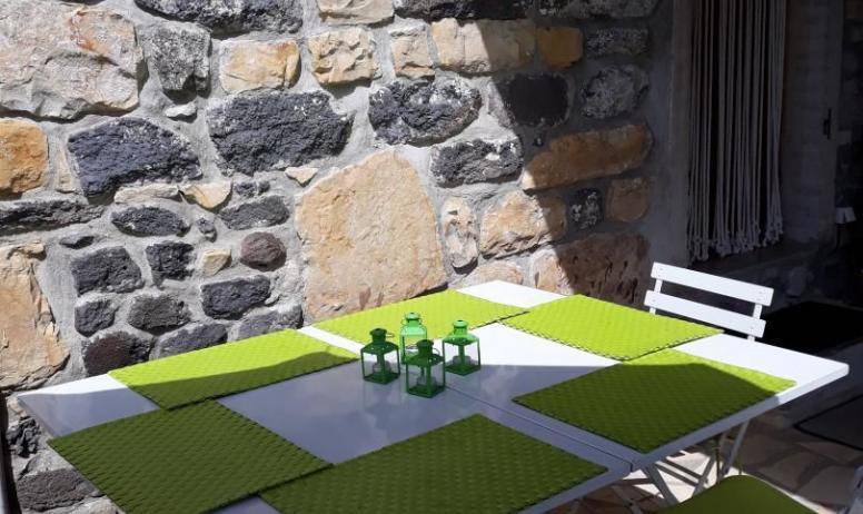 Gîtes de France - Une terrasse 10m