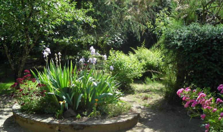 Gîtes de France - Accès jardin, barbecue et fontaine