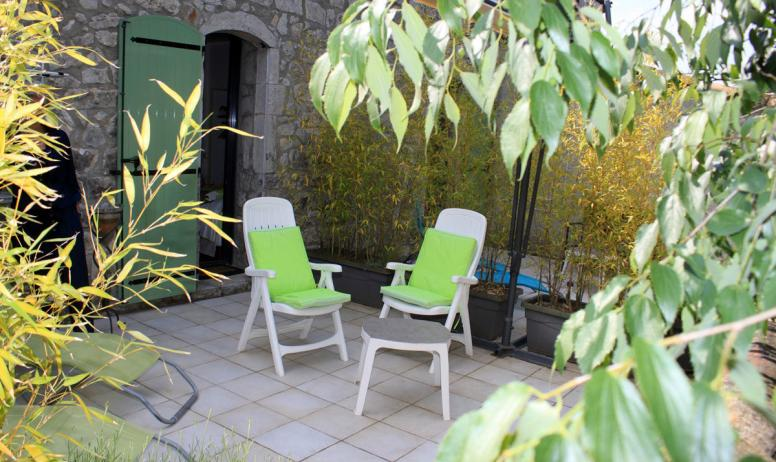 Gîtes de France - TERRASSE PRIVATIVE CHAMBRE 2