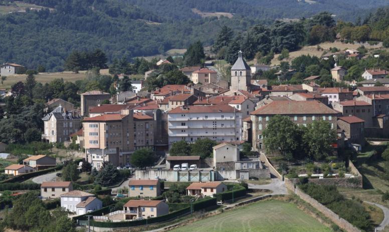 Bastide de Fontaille - village de Saint Félicien