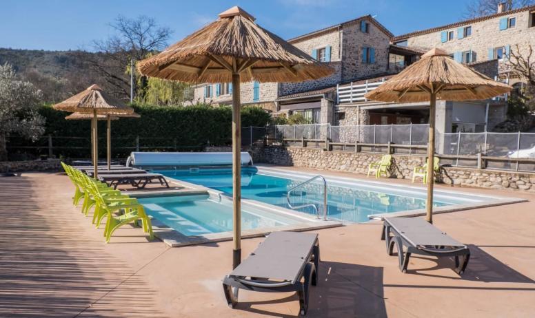Gîtes de France - La piscine avec pataugeoire