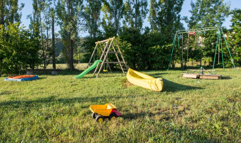 Gîtes de France - Jardin des enfants