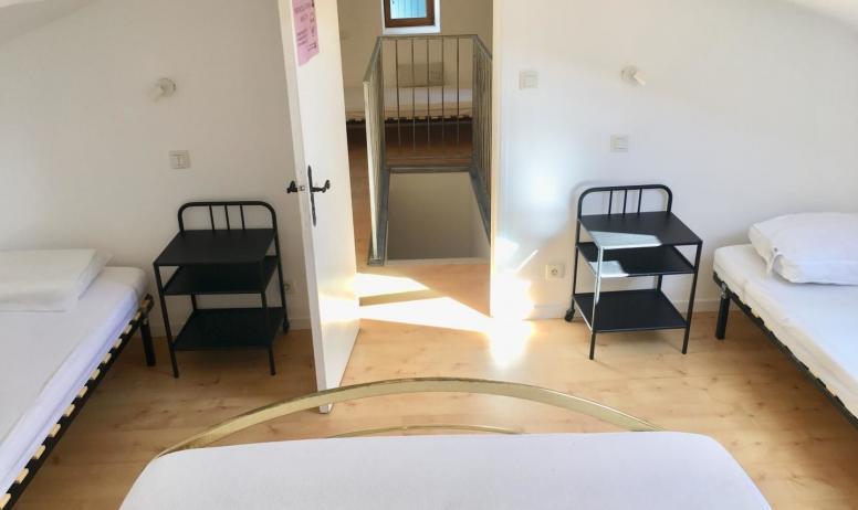 Gîtes de France - chambre 4 (2 ième étage)