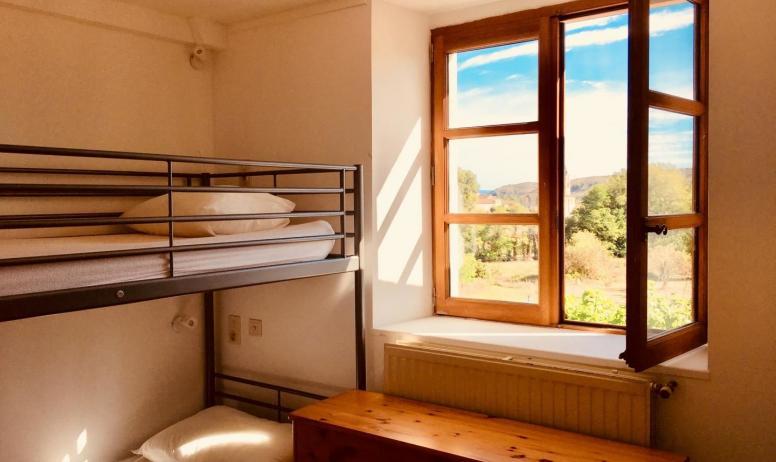 Gîtes de France - chambre 2(4 pax),premier étage)