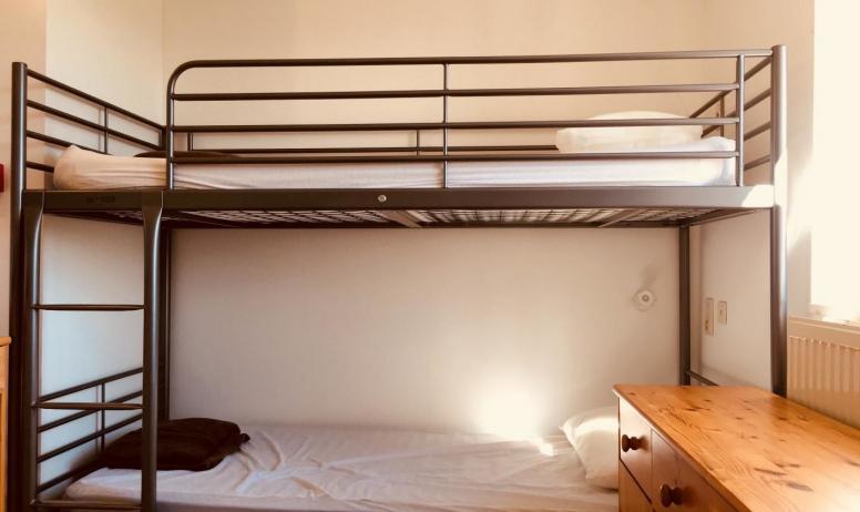 Gîtes de France - Chambre 2: 2 lits superposés (4 pax)