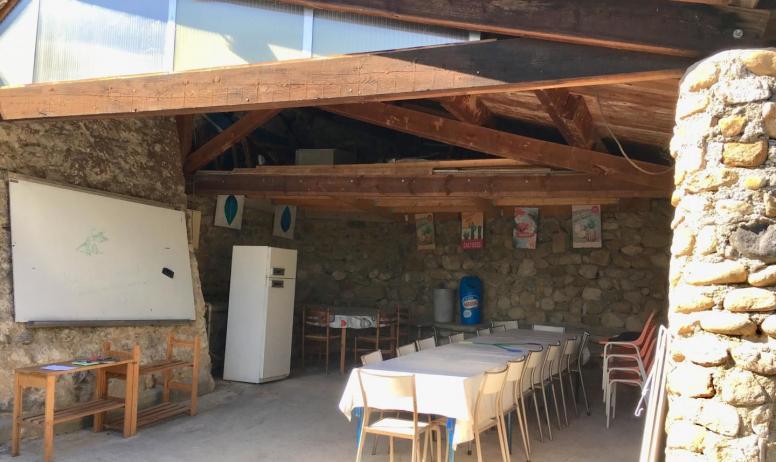 Gîtes de France - Salle à manger exterieur