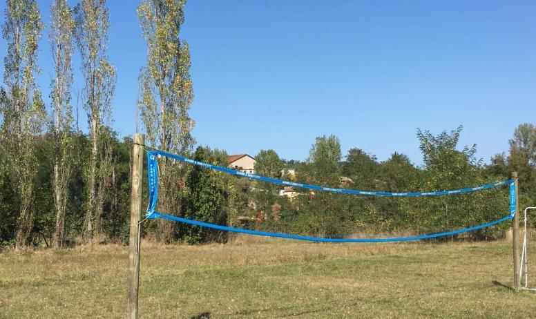 Gîtes de France - Terrain volley
