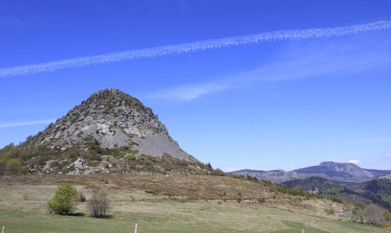 Massif central randonnées - Mont Gerbier de Jonc