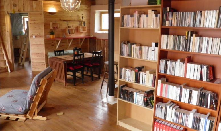 Karine Guillerault - La bibliothèque et le salon