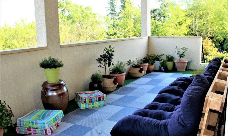 Denis Isabelle - terrasse couverte