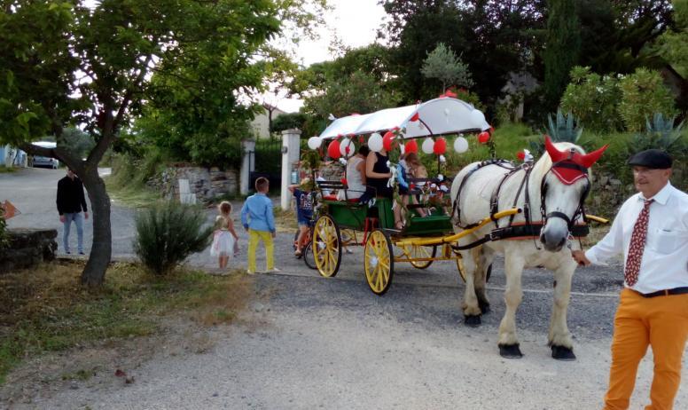 Promenades en Calèche sur les terres du Chassezac
