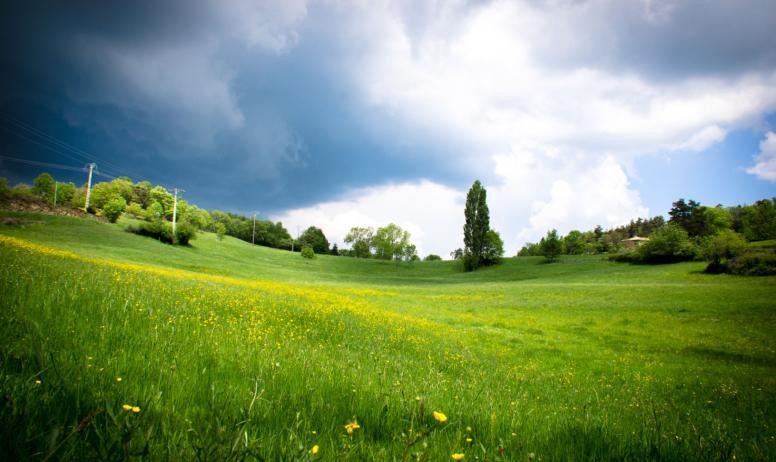 Chevauchée dans la vallée de l'Eyrieux