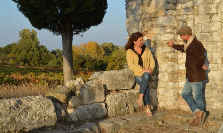 OTI DRAGA - chapelle et vigne