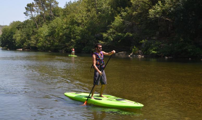 CCC - Paddle sur le plan d'eau