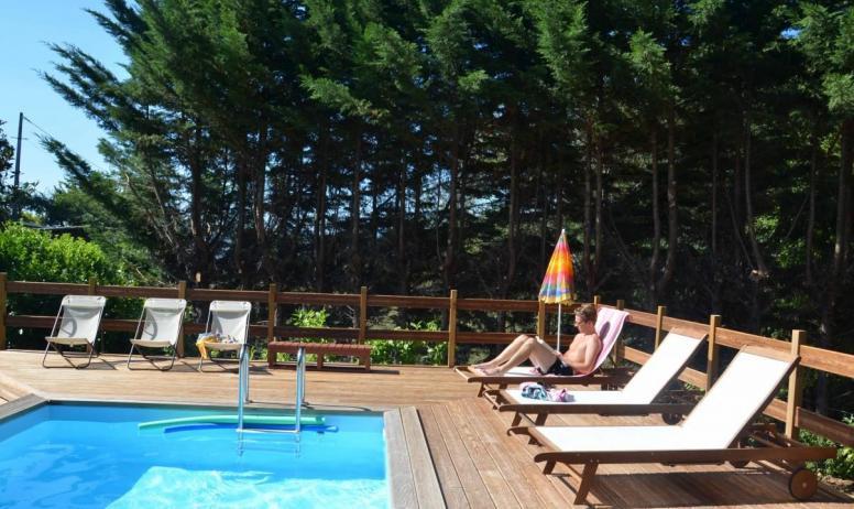 Gîtes de France - notre piscine
