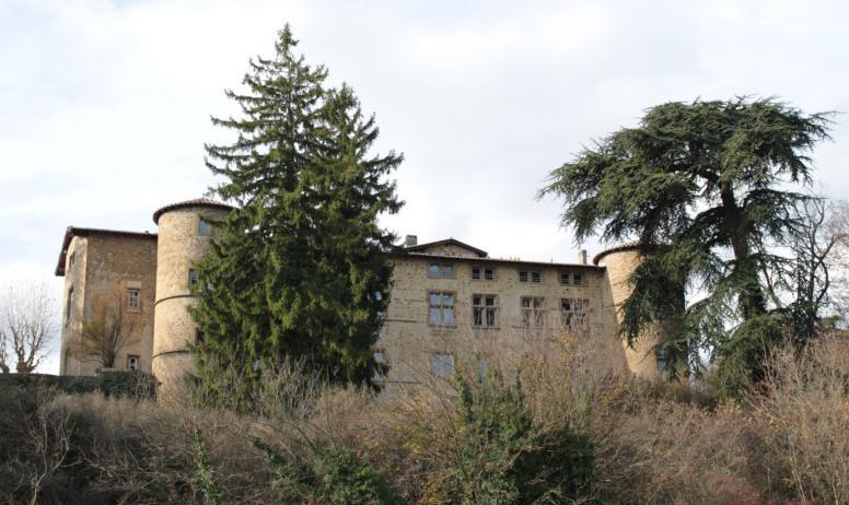 ardèche hermitage - Marche des saveurs_départ terrain de pétanque_chavannes