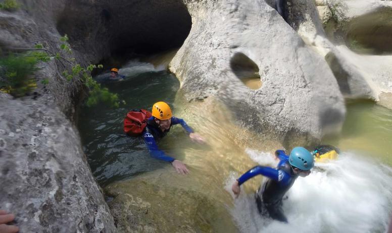 GEO ardeche canyon - GEO canyoning