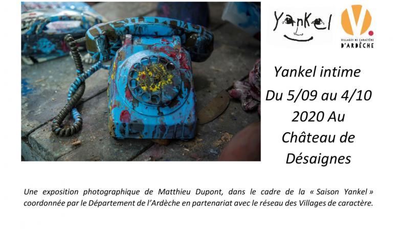 ADT Ardèche - Exposition Yankel