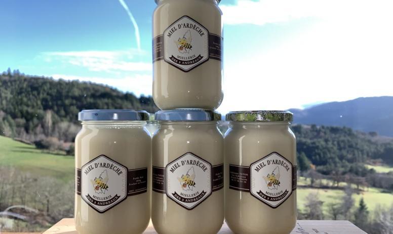 La miellerie des 3 Andreaux - Pots de miel