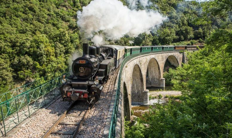 S. Bridot - Train Ardèche