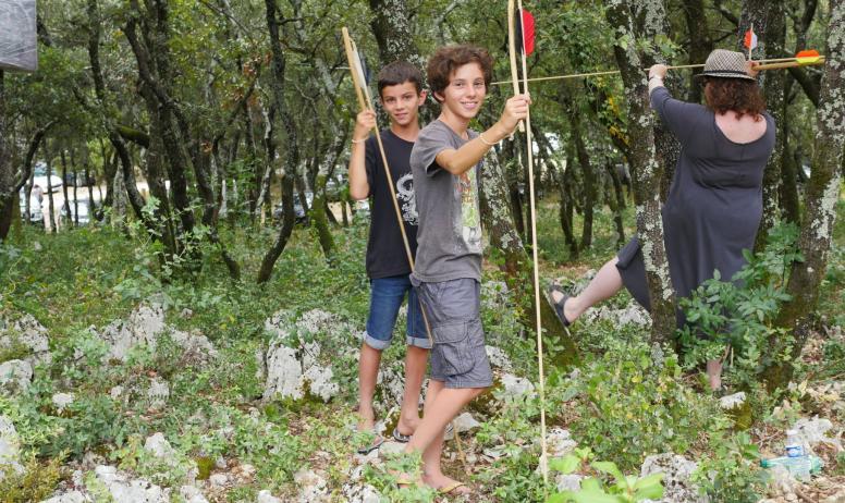 ©L.Léandri - Challenge chasse préhistorique à l'Aven d'Orgnac