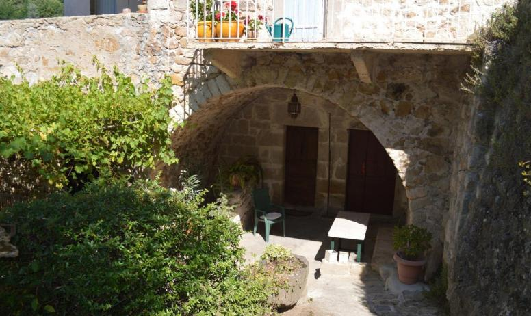 Gîtes de France - Terrasse couverte