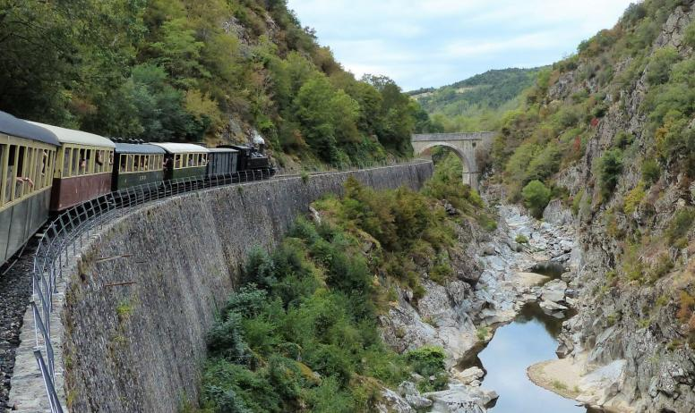 Vincent Piotti - ViaRhôna et Dolce Via de Vienne  en Arles- Train Maestrou