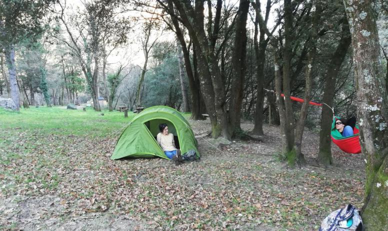 Bivouac dans les Gorges de l'Ardèche